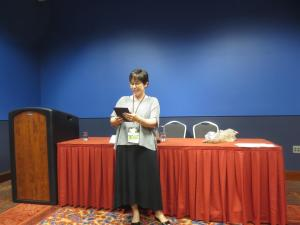 Reading from Bone Arrow at LoneStarCon