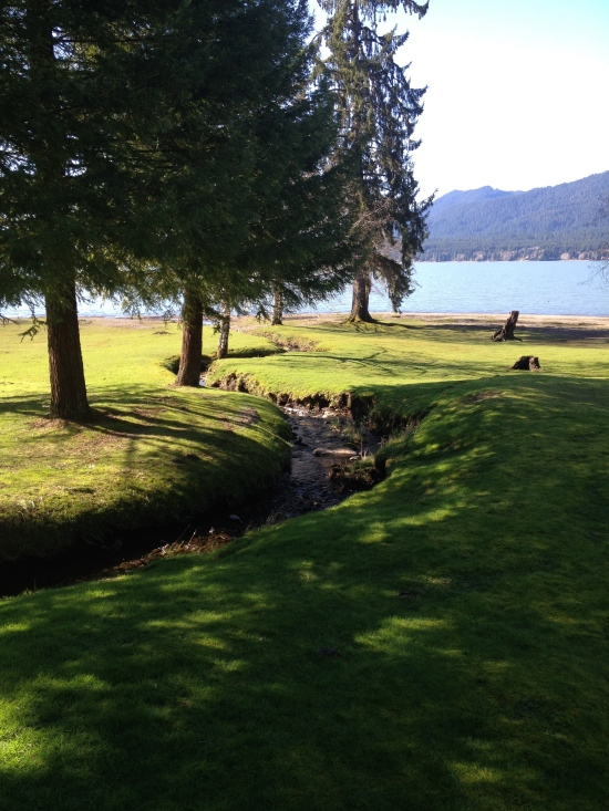 Lake with POV change.