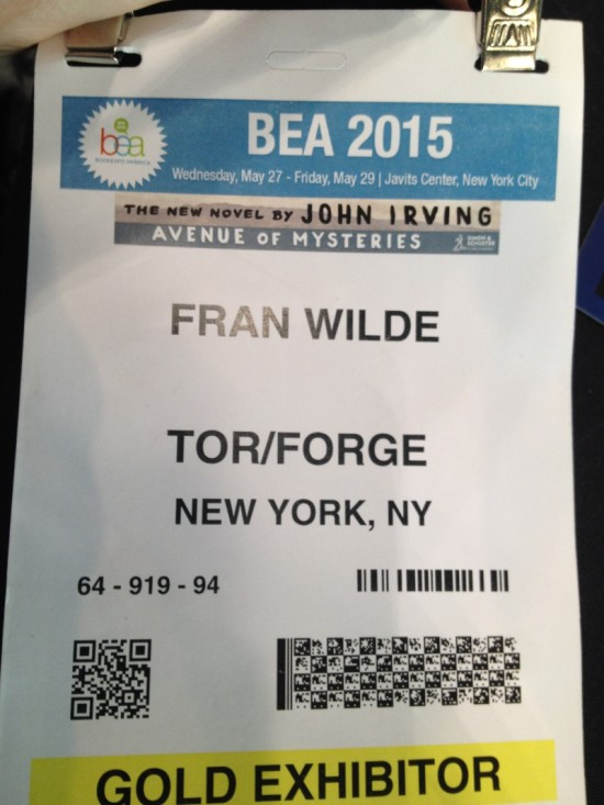 First BEA Badge