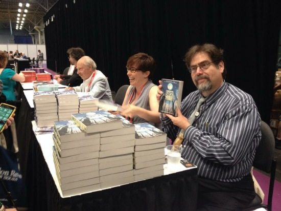Autographing with Lawrence M. Schoen is always an Adventure!
