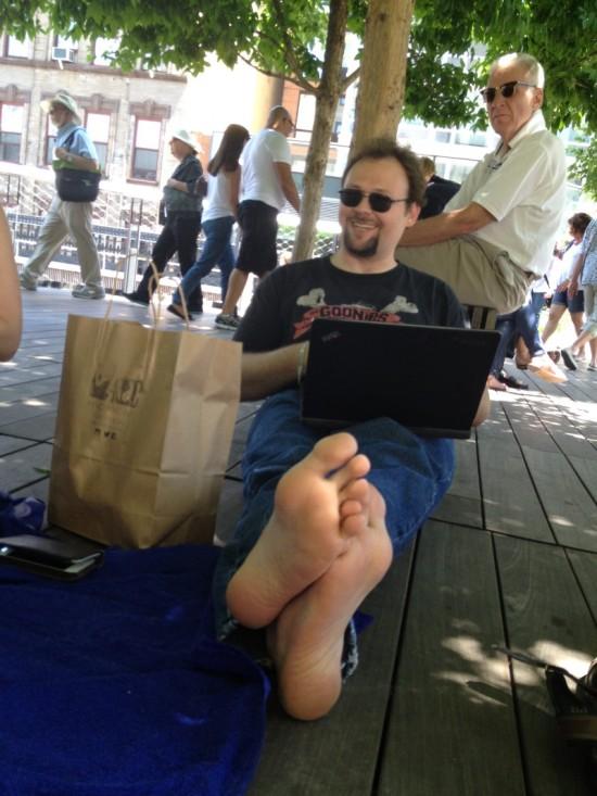Chris Gerwel, writing, writing...