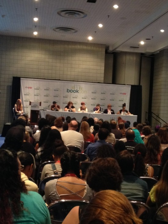 We Need Diverse Books panel plays to a packed house