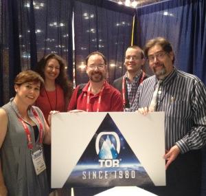 Tor Class of 2015: Fran Wilde, Ilana Myer, Principal John Scalzi, Seth Dickinson, Lawrence M. Schoen