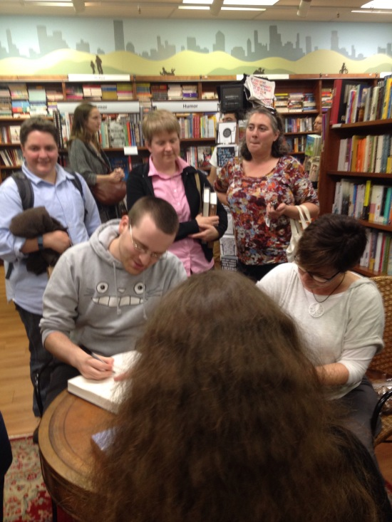 Signing at Wellesley Books