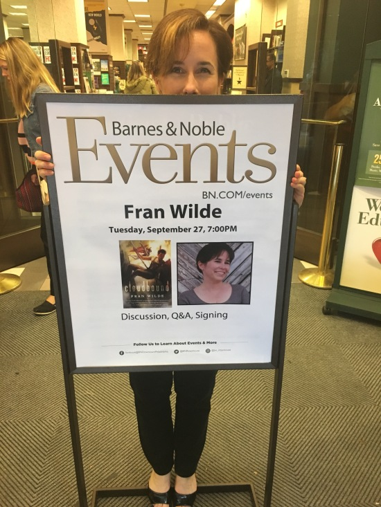 Fran Wilde & Chuck Wendig at Barnes & Noble Rittenhouse Square