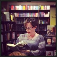 Fran Wilde at Barnes & Noble Rittenhouse Square Photo Credit: Melissa Maddoni Haims
