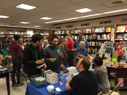 Cloudbound & Invasive Signing @ Barnes & Noble Rittenhouse Square