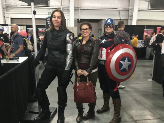 Cosplay with editor Miriam Weinberg!