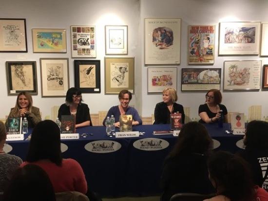 Books of Wonder panel! Photo by Miriam Weinberg