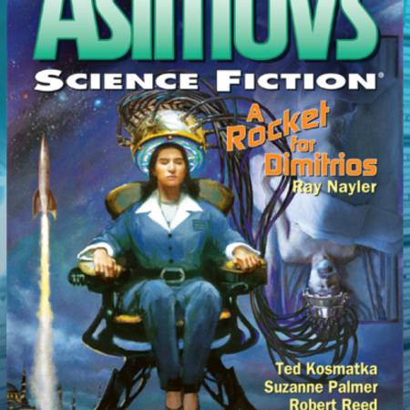The January-February cover of Asimov's